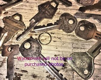 Picture of Vintage Keys Digital Download
