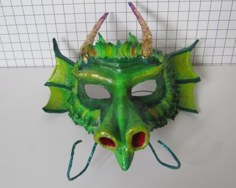 Green Dragon Mask