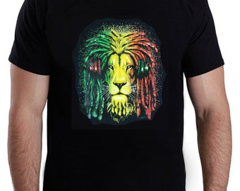 Lion with Headphones T-Shirt