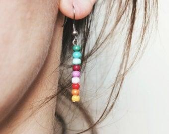 Rainbow earrings / / Rainbow earrings