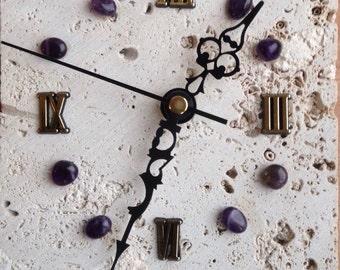 Purple clocks