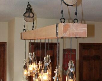Rustic Industrial Lighting - Chandelier
