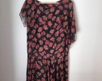 Floral Loose Dress