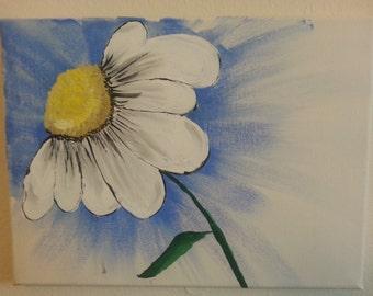 Daisy Floral Canvas