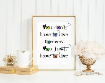 Tuck Everlasting Quotes Cool Tuck Everlasting  Etsy