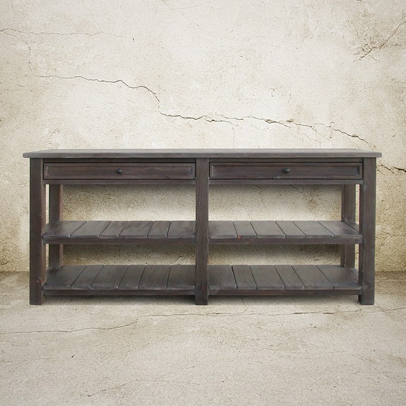 Table Console Table Media Console Reclaimed Wood Tv Stand