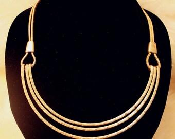 Tiered Bib Collar Necklace