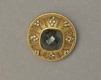 Jewel Encrusted  TAHARI  Pin Brooch Pendant