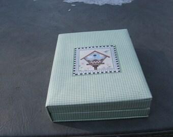 Debbie Mumm Birdhouse theme Note Cards
