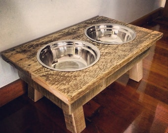 Pallet Dog/ Cat Bowl - Shipping NOT Included