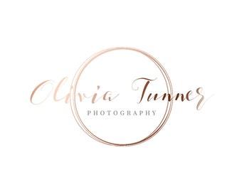 Photography logo - Wedding logo - Premade Logo -Watermark Logo - Simple Logo- Handwriting Photography Logo - Modern Logo