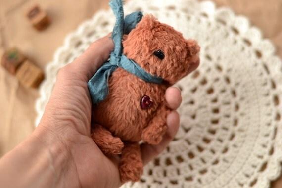 Pattern Little Bear,sewing tutorial, Animal Bear, Plush