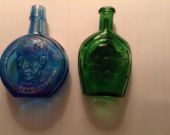Vintage Glass Mini Bottles