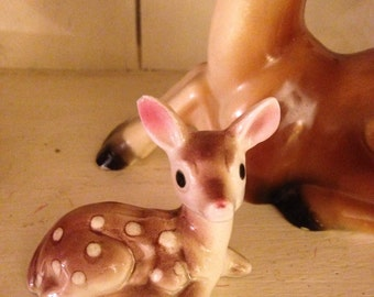 Tiny Porcelain Deer