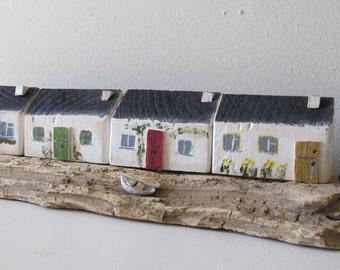 Coastal street cottages
