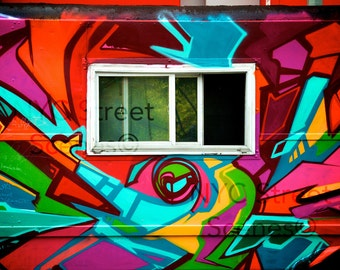 Graffiti Window©  - NYC Street Scenes