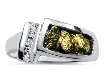 Ladies Gold Nugget Ring-Promotion 20% Off