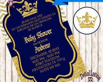 Invitation royal prince