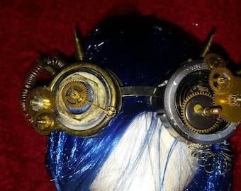 Handcrafted unique Steampunk Goggles