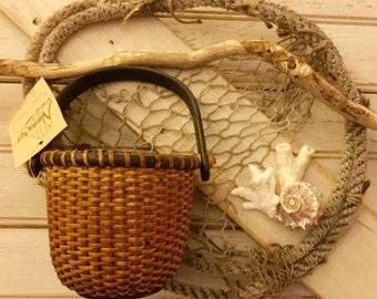 Hand Crafted Nantucket Basket