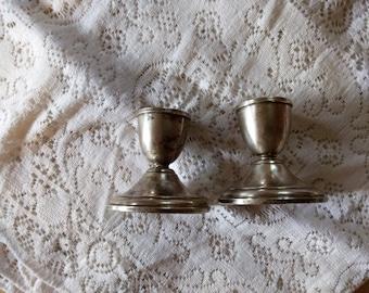 Preisner Sterling Silver Candlesticks set