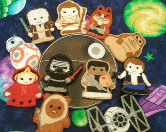 Star Wars Finger Puppets set 2 of 2