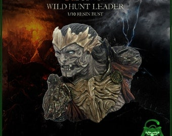 Arawn resin bust 1/10 scale, bust statue, bust sculpture