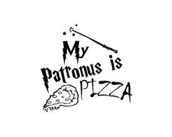My Patronus is Pizza Decal