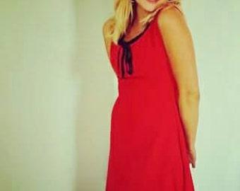 The little red dress Cécile Landmann