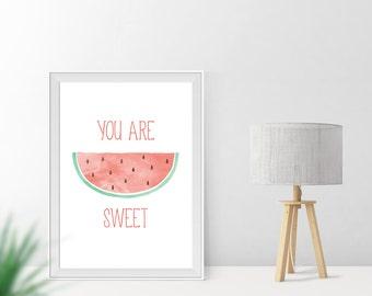 Art print / / sweet