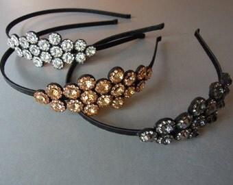 Womens Headband, Adult Headband, Hair Accessories, Beaded Headband, Party Headband
