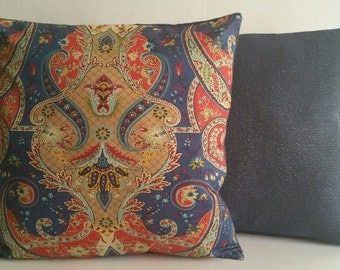 Decorative Pillows:  Paisley Persuasion