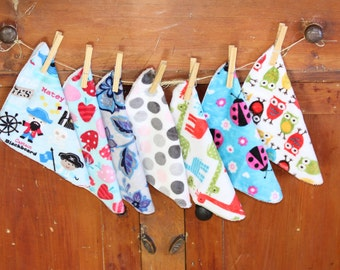 Minky Baby Washcloths