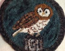 Owl Rug Hooking Kit