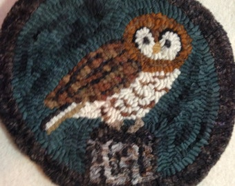 Owl Rug Hooking Kit