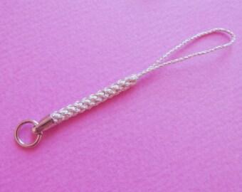 Charm Strap (silver thread)