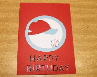 Happy Birthday - Baseball/softball card