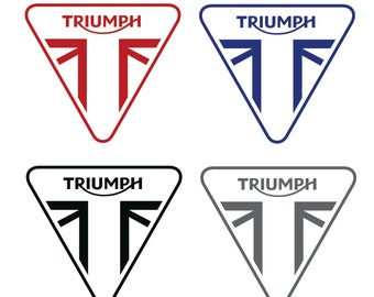 Triumph Motorcycles Decal / Sticker - High Quality