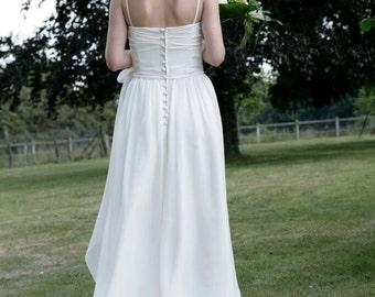 36 - chiffon wedding dress