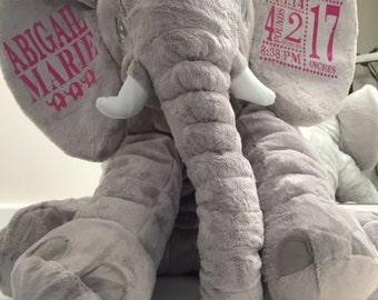 Customized Sleeping Elephant for baby
