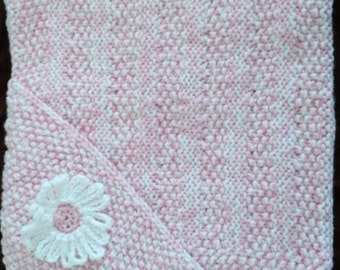 Baby Blanket with Hood - Pink