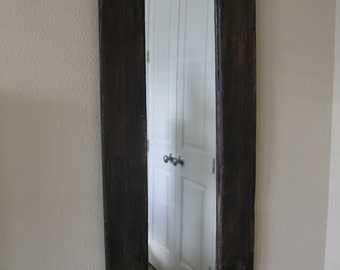 Reclaimed Wood Mirror, handmade, local pickup available TX