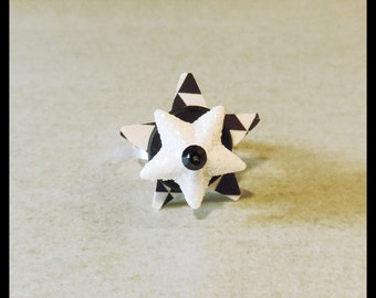 """Adjustable ring """"A the stars us"""""""