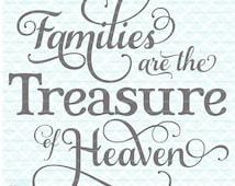 Christian Svg Family Svg Religious Svg Files Religious Quote Svg Family Quote Svg Samantha Font Heaven Svg Cut Files svg dxf eps jpg