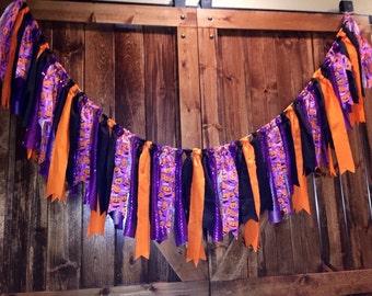 Halloween Fabric Garland