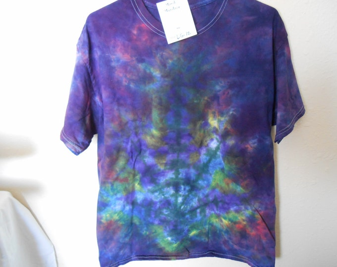 "100% cotton Tie Dye T-shirt ""Midnight sky"" MMLG12 size LG"