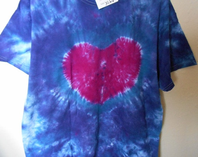 100% cotton Tie Dye T-shirt MMXL66 size XL