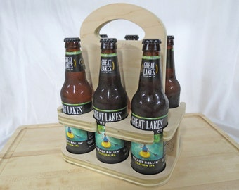 6 Pack Beer Holder by BrewCadet [Free Shipping]