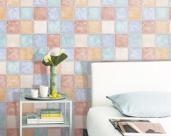 bathroom splashback tiles peel and stick tile etsy 11523