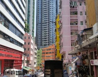 """002 - Photography: Wan Chai, Hong Kong  - 20"""" x 30"""" (508 x 762mm)"""